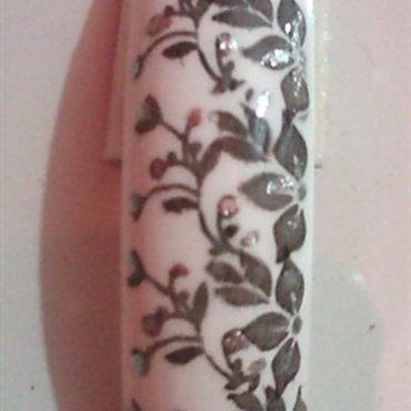 Floral Wedding nail art by Beautiful You With Suzette
