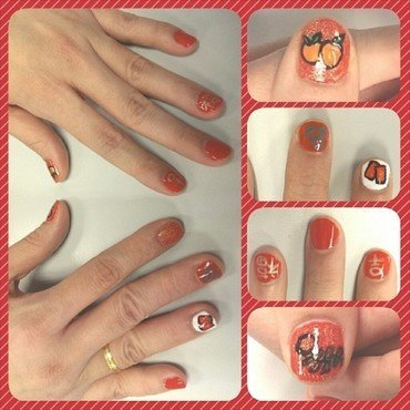 Fortune and Prosperity nail art by JingTing Jaslynn