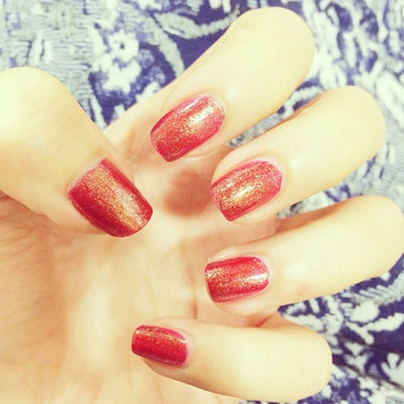 Chinese New Year Nails nail art by Luxi Zhang