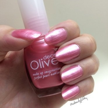Olive Deco Pink Pearl (214) Swatch by onebeautyfulday
