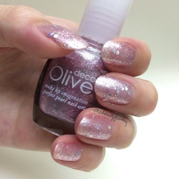 Olive Deco Glitter purple Swatch by onebeautyfulday