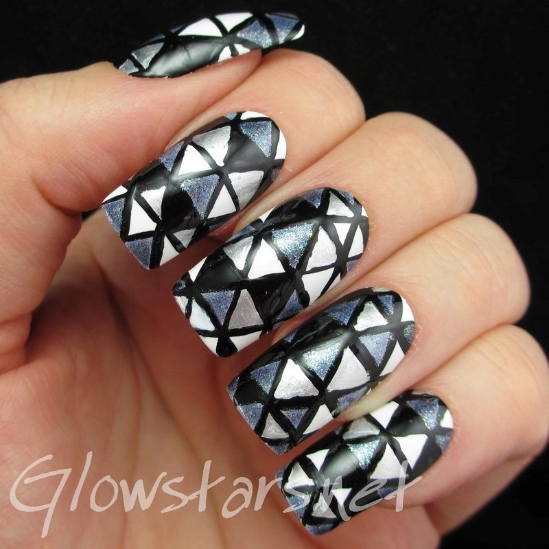 From the start I've been pulled apart by weightless love nail art by Vic 'Glowstars' Pires