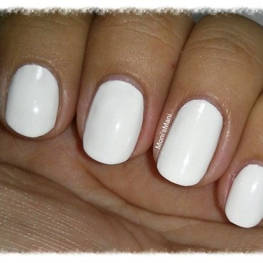 China Glaze Snow Swatch by Moni'sMani