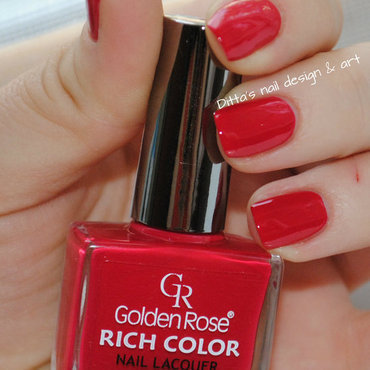 Golden Rose RichColor nr.21 Swatch by Ditta