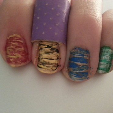 Harry Potter nail art by Brittany Wanner