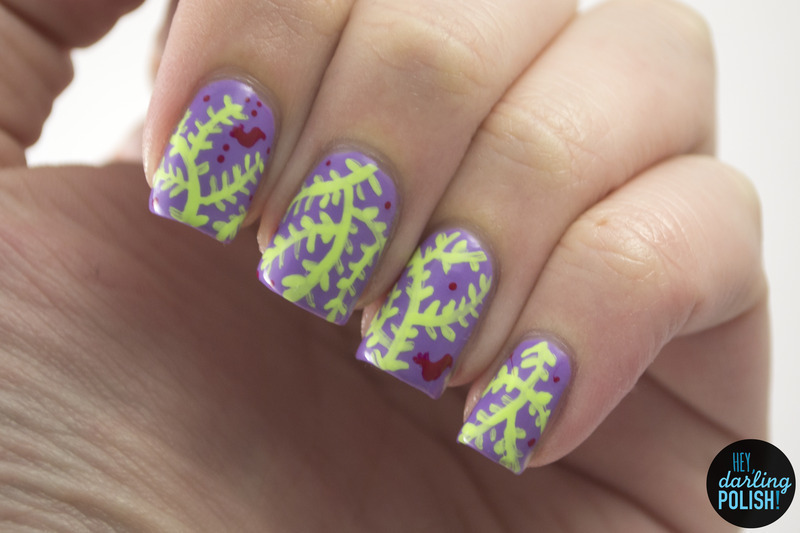 A Little Birdy Told Me nail art by Marisa  Cavanaugh