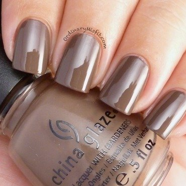China Glaze Foie Gras Swatch by Michelle