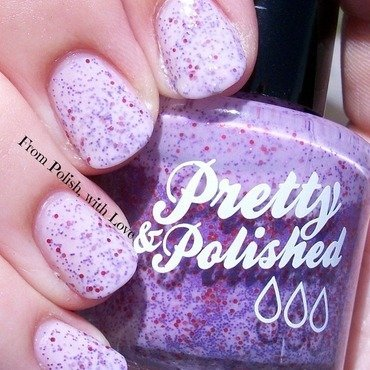 Pretty & Polished Solar Power Purple Swatch by Dani