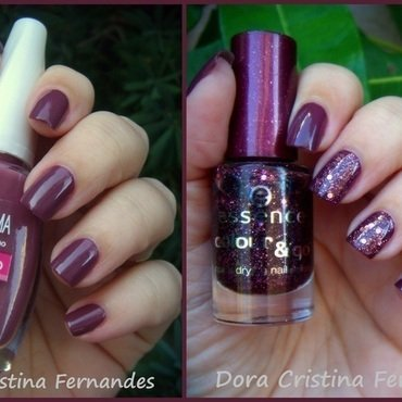 Time for Romance nail art by Dora Cristina Fernandes