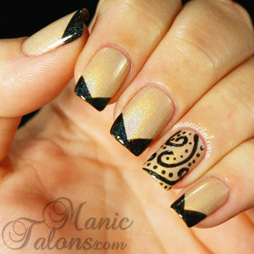 Kbshimmer holo nail art thumb370f