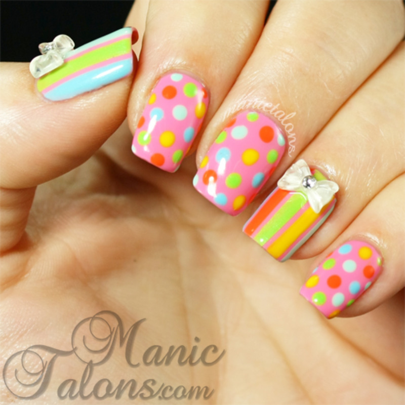 Something Sweet with LeChat Sugar Me Up Collection nail art by ManicTalons