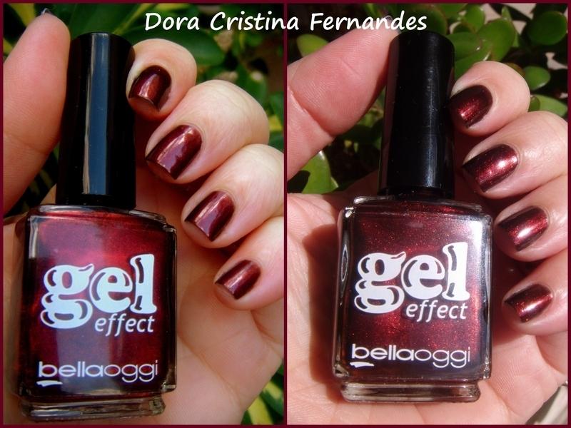 Bellaoggi Supreme Red (nº.24) Swatch by Dora Cristina Fernandes
