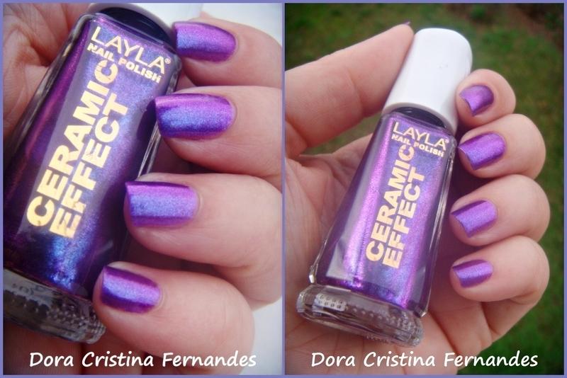 Layla CE 64 - African Violet Swatch by Dora Cristina Fernandes