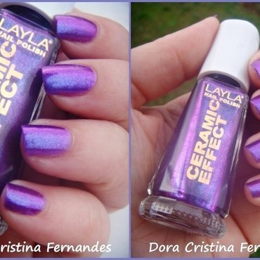 Layla CE 64 - African Violet Swatch by Dora Cristina Fernandes