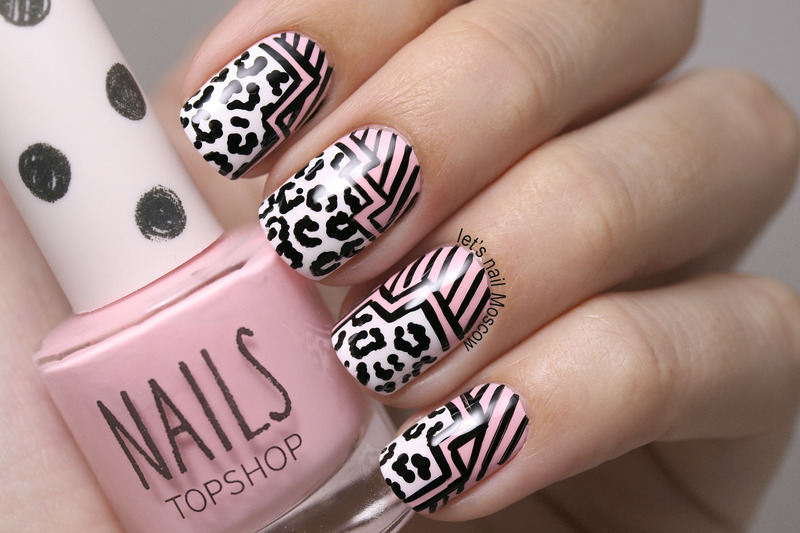 Graphic nail art nail art by lets nail moscow nailpolis graphic nail art prinsesfo Choice Image