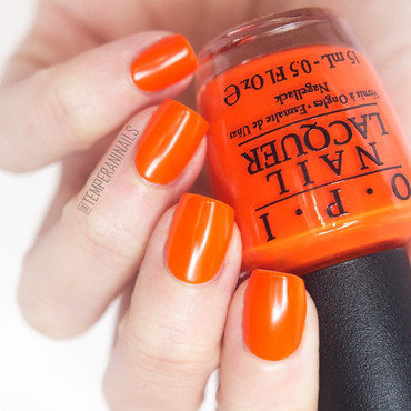 OPI Juice bar hopping Swatch by Temperani Nails