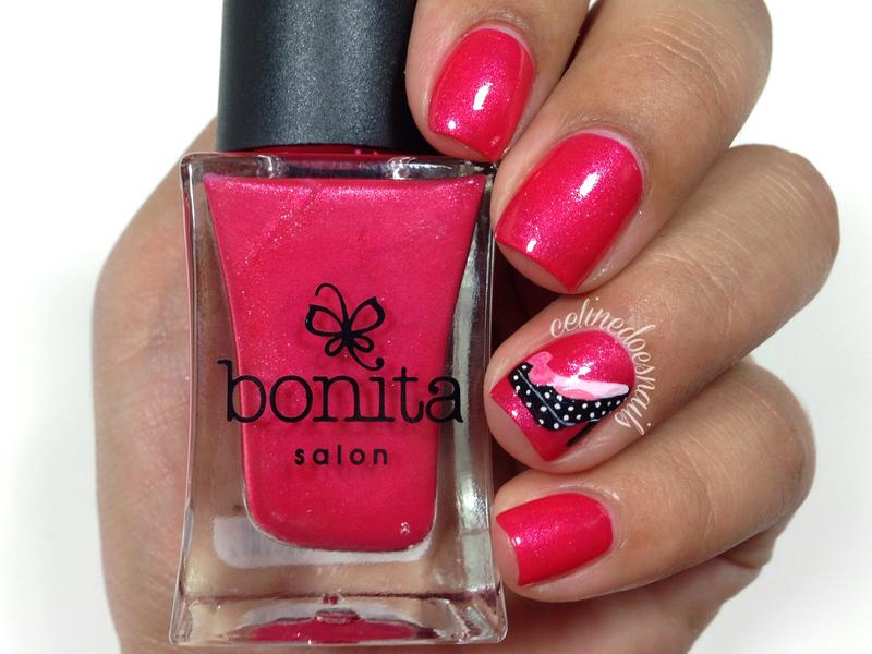 Bonita Cosmetics Glitzy Heels Swatch by Celine Peña