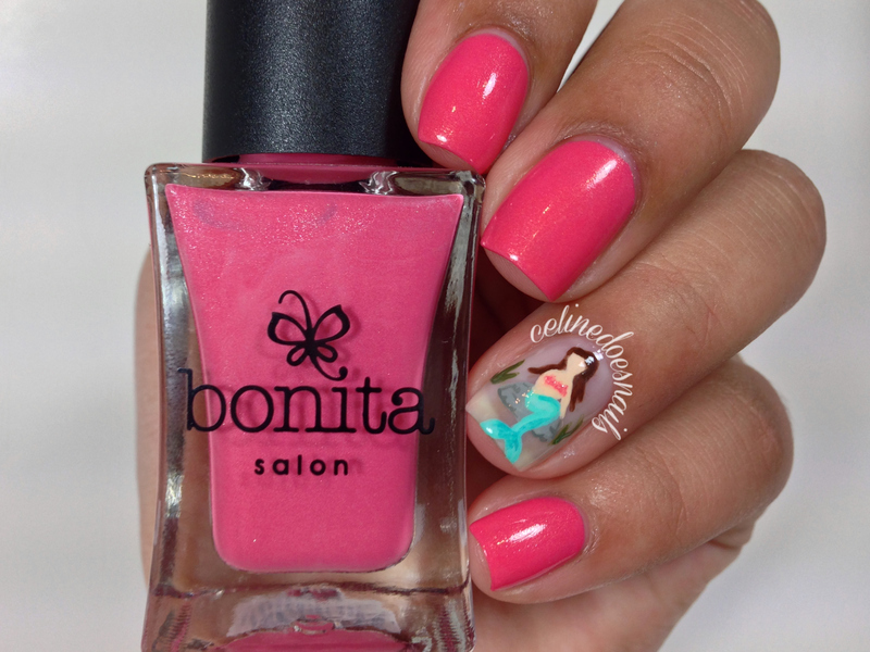 Bonita Cosmetics Team Pink Swatch by Celine Peña