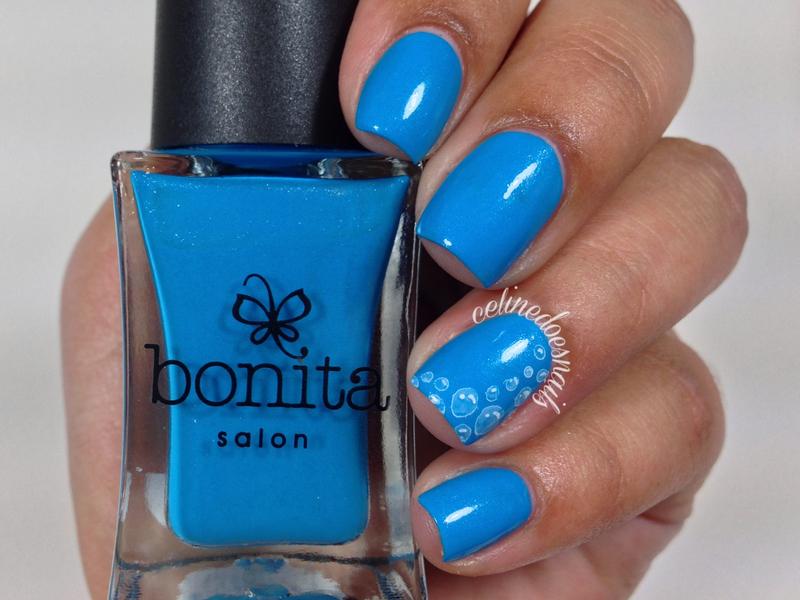 Bonita Cosmetics Ride The Waves Swatch by Celine Peña