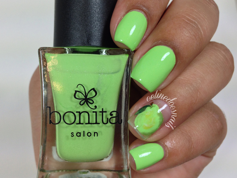 Bonita Cosmetics Pear Me Up Swatch by Celine Peña