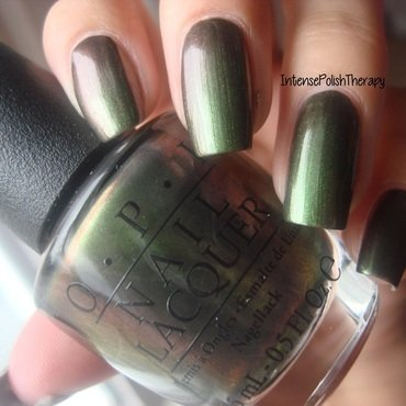 OPI Green On The Runway Swatch by IntensePolishTherapy Anita