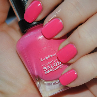 Sally Hansen Shrimply Divine Swatch by Ditta
