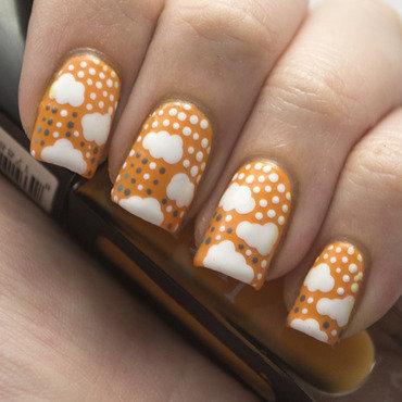 Nail art ideas linkup clouds 2 thumb370f