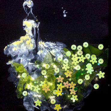 Dream Fairy. nail art by Chan  Clayrene
