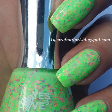 Swatch 1 neon speckled thumb370f