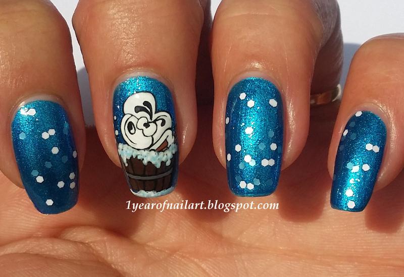 Diddl nail art by Margriet Sijperda