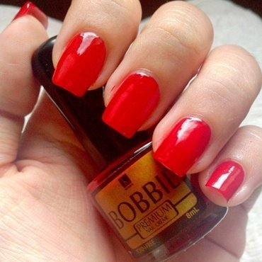 Bobbie Exactly Red Swatch by Judy Ann Chio