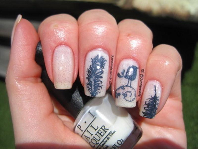 Ducks nail art by Donner