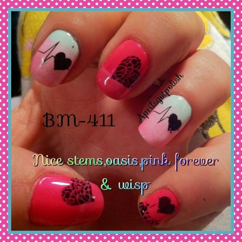 April Dolan mothers love  nail art by April Dolan