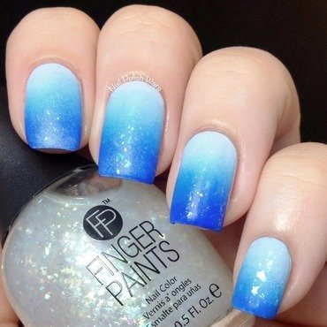 Ombré Gradient nail art by Nail Polish Wars