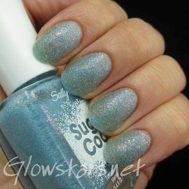 Sally Hansen Sugar Coat Royal Icing Swatch by Vic 'Glowstars' Pires