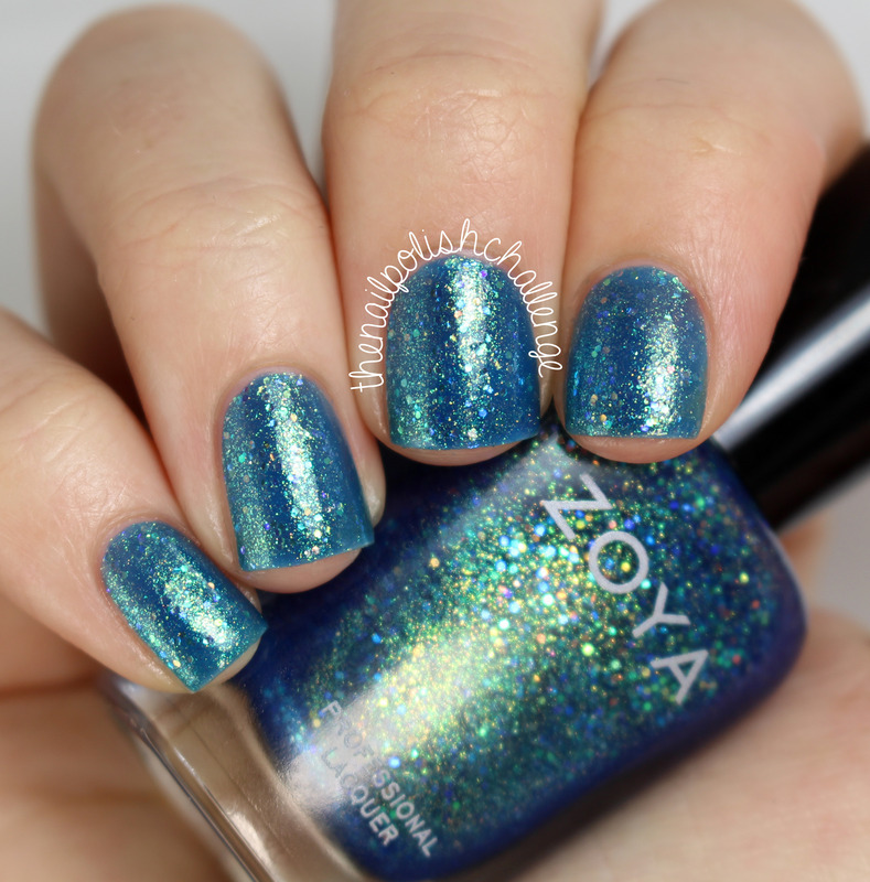 Zoya Muse Swatch by Kelli Dobrin