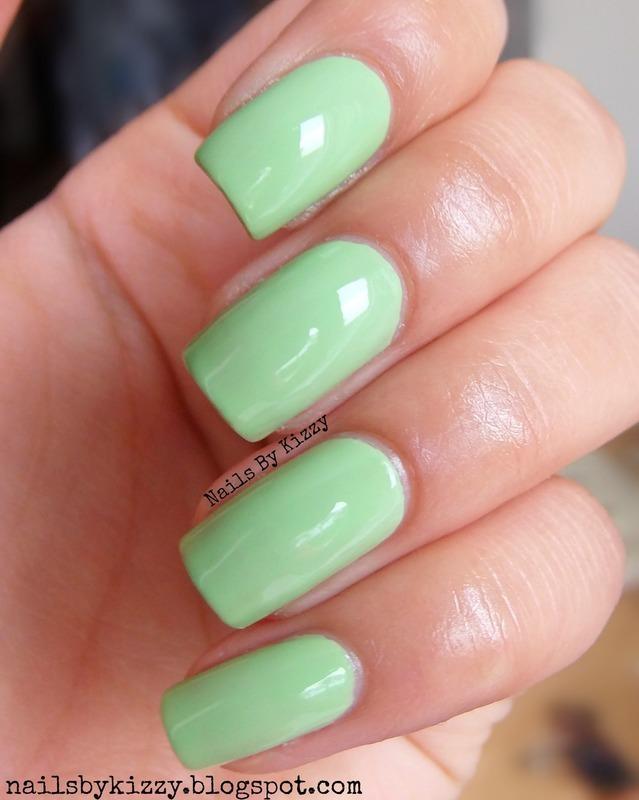 Nails Inc Marylebone Road Swatch by Kizzy