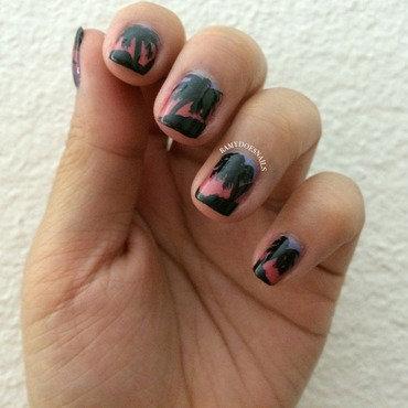 Para para paradise nail art by Ramy Ang