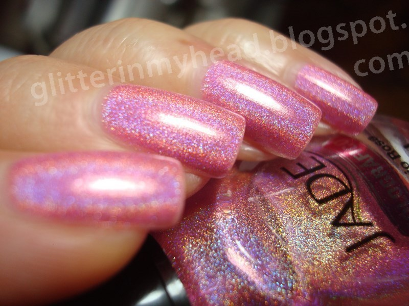 Jade Delirio Rosa Swatch by The Wonderful Pinkness