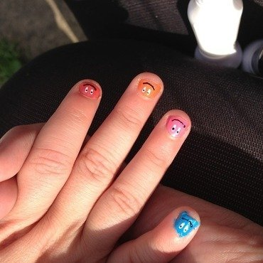 Childrens Nails nail art by Kelly Greenwood
