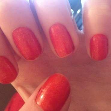 Barry M - Tangerine by Kelly Greenwood