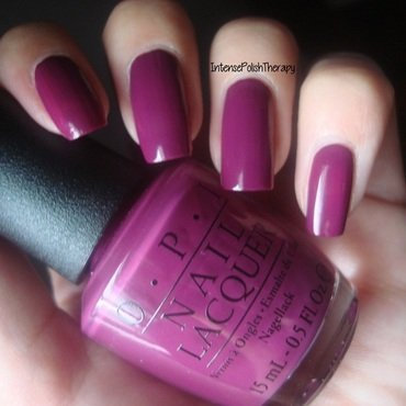 OPI Get Cherried Away Swatch by IntensePolishTherapy Anita