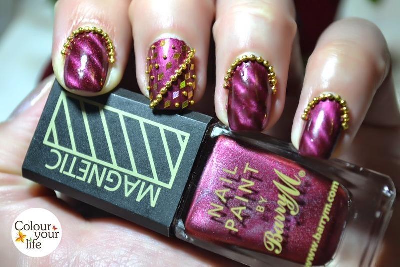 Nail chains  nail art by Andrea  Manases