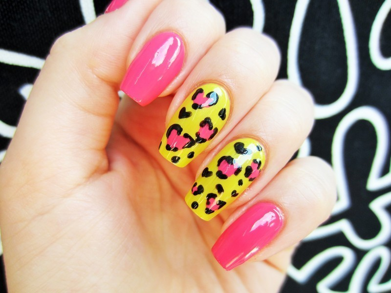 Summer is here! nail art by Jane
