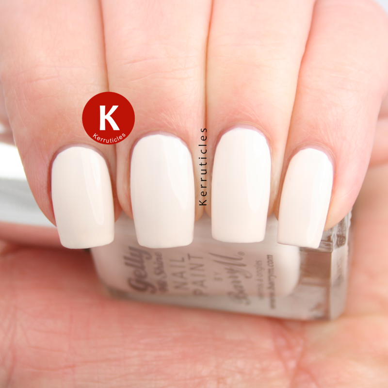 Barry M Coconut Swatch by Claire Kerr