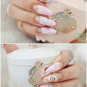 Classic Disney, Winter Nails nail art by Carise Iris