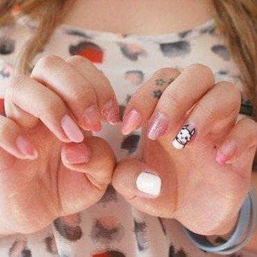 Alpaca nails nail art by Carise Iris