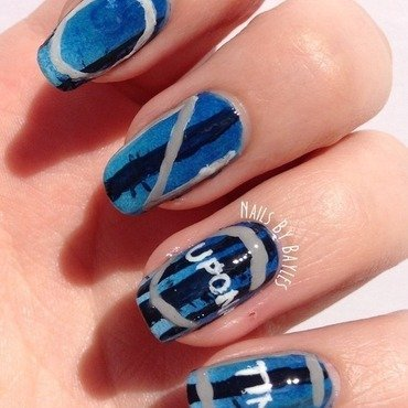 Once Upon A Time Nail Art nail art by Baylie
