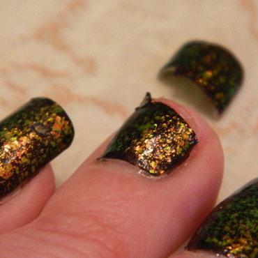 Ow... nail art by lazy nail blogger
