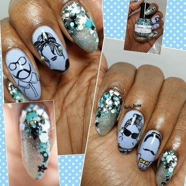 Tri and Angle nail art by Nails_Divine